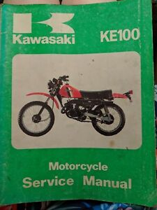 Kawasaki KE100 Workshop Manual
