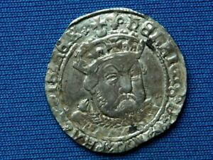 Henry VIII Groat - 3rd coinage - Bust B - Tower mint - mm lis - Superb portrait
