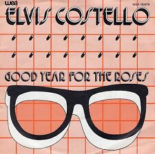 7inch ELVIS COSTELLO good year for the roses HOLLAND 1981 EX+