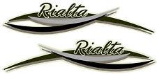 2 RV WINNEBAGO RIALTA GRAPHIC DECAL -835-2