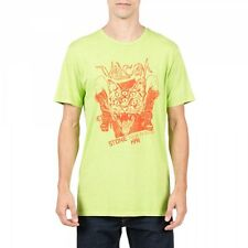 NWT Volcom 2017 Pet It SS Tee Shirt T-Shirt Mens Medium Green Tea ab95
