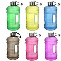 2.2L Big Large BPA Free Sport Gym Training Drink Water Bottle Cap Kettle Camping