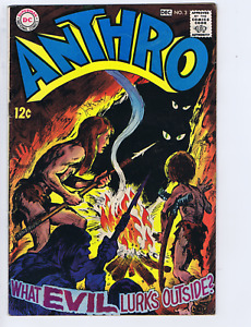 Anthro #3 DC 1968 ''Journey to the Island of Green '' Howie Prost