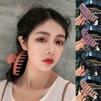 Women Large Hair Claw Hairpin Solid Acrylic Hairpin Hair Travel Decor Clip Z1E2