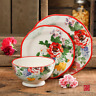 The Pioneer Woman 12-Piece Dinnerware Set Starter Floral Dishes Service For 4