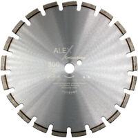 ASPHALT Diamant-Trennscheibe 300 mm x 25,4mm Estrich abrasive Baustoffe Motoflex