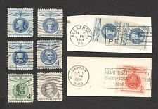 1958 -1961 4c Champion of Liberty Issue Used Stamp Lot