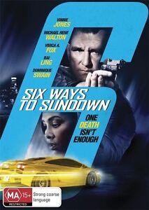 Six Ways To Sundown DVD Cocaine Drama Action - Vinnie Jones
