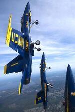 Blue Angels Vertikale Aufstieg 12x18 Silber Halogen Fotodruck