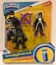 Imaginext DC Super Friends Batman & Huntress New In Box