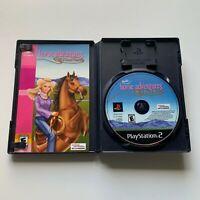Barbie Horse Adventures: Wild Horse Rescue (PlayStation 2, PS2) Complete CIB