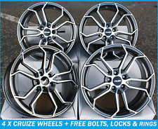"18"" ALLOY WHEELS FIT FOR FORD FOCUS KUGA EDGE ESCAPE FUSION ST CRUIZE CR5"