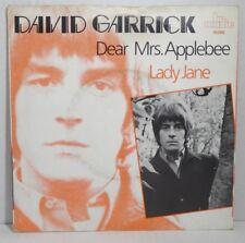 "DAVID GARRICK - Dear Mrs. Applebee / Lady Jane - 7"" Single, br.music 1966 Ri"