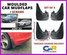 Rubbert Car Mud Flaps Splash guards set of 4 front and rear for Audi a3