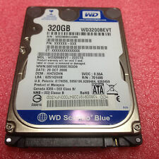 """320gb WD Blue WD 3200 BEVT disco rigido 2,5"""" 5400rpm SATA 2 HDD buono stato"""