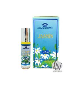 JASMIN -Al Rehab 6ml Fragrance Alcohol-free Halal Attar Roll-on Perfume Oil