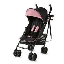 Summer Infant 3DlitePlus Convenience One-Hand Adjustable Stroller Pink/Black