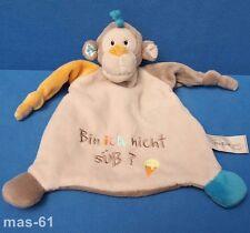 My First Nici Schmusetuch Singe Kuscheltuch 28 cm monkey je ne suis pas Mignon?