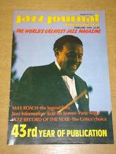 JAZZ JOURNAL INTERNATIONAL VOL 43 #2 1990 FEBRUARY MAX ROACH LIONEL HAMPTON