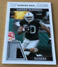 2011 Panini Football Darren McFadden Jersey Patch Card