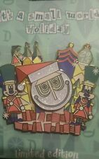 Dlr Disneyland It'S A Small World Holiday 2015 Le 2000 Pin