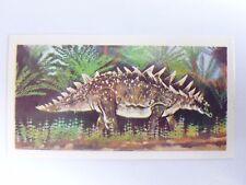 Brooke Bond Prehistoric Animals tea card 20. Polacanthus. Dinosaurs.