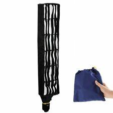 20x90cm Studio Lighting Flash Strip Diffuser Softbox Honeycomb Grid Speedlite