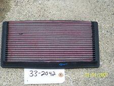 K&N AIR FILTER HI-PERFOMANCE REUSABLE WASHABLE PN: 33-2042