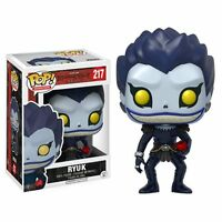 FUNKO POP RYUK 217 DEATH NOTE FIGURE 9 CM SHINIGAMI ANIME MANGA STATUE #1