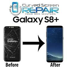 Samsung Galaxy S8+ Plus Cracked Screen Repair Glass Replacement Mail In Service