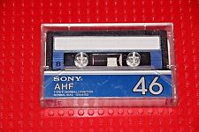 USED TAPES!!     SONY  AHF  46  BLANK CASSETTE TAPE (1) (USED)
