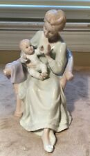 """The Valencia Collection By Roman Inc Mother And Child 6"""" Porcelain Figurine 2000"""