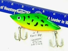 """Bill Lewis"" Saltwater RAT-L-TRAP Large 4.75"" 2oz. Firetiger Fishing Lure"