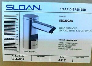 Sloan ESD-2000 EAF 200 Deck mounted Foam Soap Dispenser