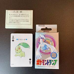 Pokemon Playing Cards Poker Decks Silver Lugia Nintendo 1999  New