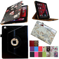 For iPad 2 2011 A1395 A1396 A1397 Rotating Case Cover with pocket & pen holder