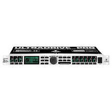 Behringer DCX2496 Ultradrive Pro Loudspeaker Management System Full