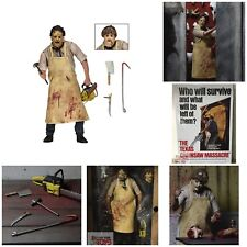 "ULTIMATE LEATHERFACE Texas Chainsaw Massacre Neca 2015 7"" INCH 2018 FIGURE"