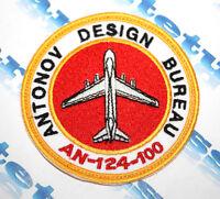 PATCH AVIATION AIR PLANE AN-124 - 100 RUSLAN ANTONOV AIRLINES WAYS CARGO CRAFT