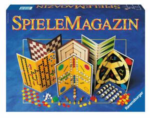 Ravensburger Spielesammlung 26301 SpieleMagazin Brettspiele Gesellschaftsspiele