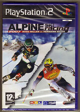 PS2 Alpine Ski Racing 2007, UK Pal, New & Sony Factory Sealed