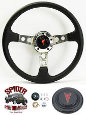 "1969-1992 Firebird steering wheel LEATHER 14"" Grant steering wheel"