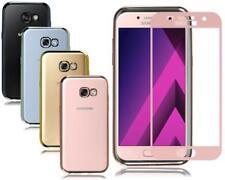 Étuis, housses et coques argentés Samsung Galaxy A5 en silicone, caoutchouc, gel pour téléphone mobile et assistant personnel (PDA)