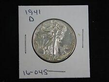 1941-D Walking Liberty Half Dollar AU  (16-045)
