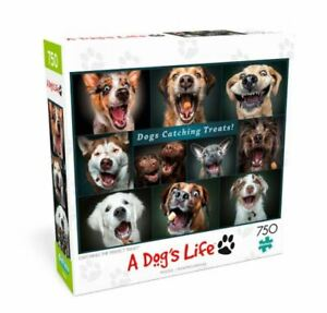 Buffalo Games A Dog's Life Catching The Perfect Treat 750pc