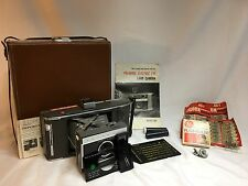 Vintage Polaroid J66 Land Camera w/ Official Case, Original Manual,  Clean