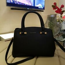 Charles & Keith PU Basic City Bag - Black