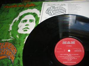 Gilbert O'Sullivan i'm A Writer Not A Fighter LP & Lyric Sheet 1973 MAM.SS-505