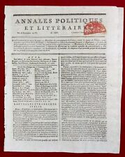 Bonaparte en Italie 1797 Thurn République Cisalpine Venise Hunigue Bordeaux