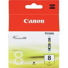 1 Originale Canon Cartuccia d'inchiostro Pixma ip4300 ip4500 NUOVO cli-8y cli8y YELLOW